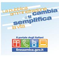 clicca per accedere al sito di Linea Amica PA - il sito verrà aperto in una nuova finestra
